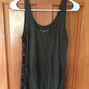 Green Detailed American Eagle Tank